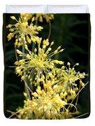 Allium Flavum Or Fireworks Allium Duvet Cover