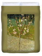 Almond Tree In Blossom Duvet Cover