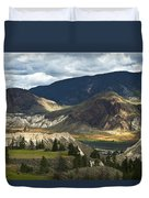 Along The River  Duvet Cover