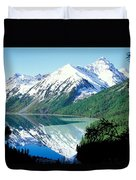 Altai Mountains Duvet Cover