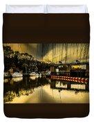 Alyesford Lock Duvet Cover