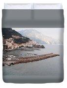 Amalfi Italy Duvet Cover