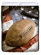 American Football Duvet Cover