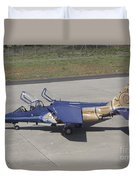 An Alpha Jet Of The Portuguese Air Duvet Cover