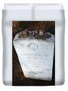 Medgar Evers -- An Assassinated Veteran Duvet Cover