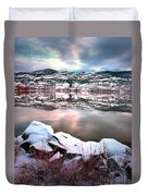 An Okanagan Winter Duvet Cover