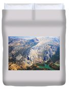 Andalusian Heights. Spain Duvet Cover