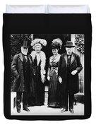Andrew Carnegie (1835-1919) Duvet Cover