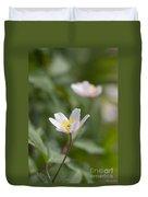 Anemone Windflower Duvet Cover