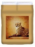 Animal Portrait Duvet Cover