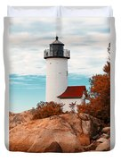 Annisquam Lighthouse Duvet Cover