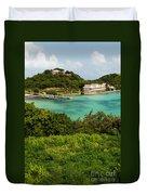 Antigua Long Bay Duvet Cover