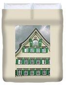 Appenzell Switzerland's Famous Windows Duvet Cover