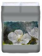 Apple Blossom Photoart Vi Duvet Cover