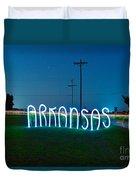 Arkansas Duvet Cover