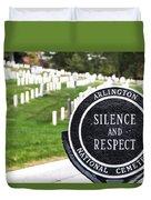 Arlington National Cemetery Part 1 Duvet Cover