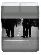 Arriving Soldiers  Duvet Cover