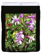 Art In The Garden II Duvet Cover