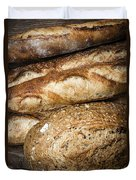 Artisan Bread Duvet Cover by Elena Elisseeva