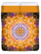 Sun Sparkle Mandala  Duvet Cover