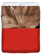 Asiatic Lily Named Red Twin Duvet Cover