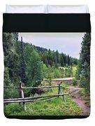 Aspen Trees In Vail - Colorado Duvet Cover
