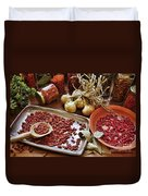 Assorted Spices Duvet Cover
