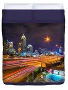 Atlanta - Georgia - Usa Duvet Cover
