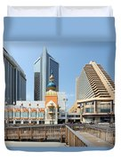 Atlantic City Duvet Cover