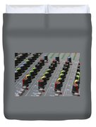Audio Mixing Board Console Duvet Cover