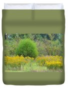 Autumn Grasslands 2013 Duvet Cover