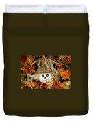 Autumn Greetings Duvet Cover