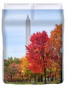 Upward - Autumn High Duvet Cover