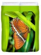 Autumn Leaf Butterfly Duvet Cover