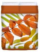 Autumn Upshot Duvet Cover