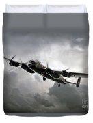 Avro Lancaster Duvet Cover