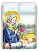 Baby Jesus Duvet Cover