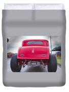 Back Side Duvet Cover