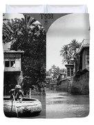 Baghdad Tigris, C1914 Duvet Cover