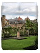 Bakewell Country Gardens - Bakewell Town - Peak District - England Duvet Cover