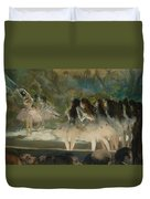 Ballet At The Paris Opera Duvet Cover
