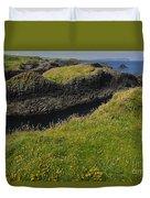 Ballintoy Harbor Duvet Cover