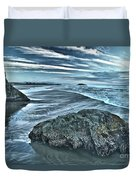 Bandon Beach Swirls Duvet Cover