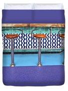 Bar Stools Duvet Cover