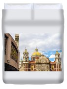 Basilica Of Our Lady Of Guadalupe Duvet Cover