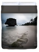 Bathsheba Beach Barbados Duvet Cover