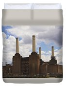 Battersea Power Station London Duvet Cover