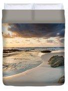Beach Sunrise Duvet Cover