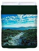 Beach Track Duvet Cover