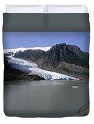 Bear Glacier Duvet Cover